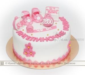 фото торта на годик девочке