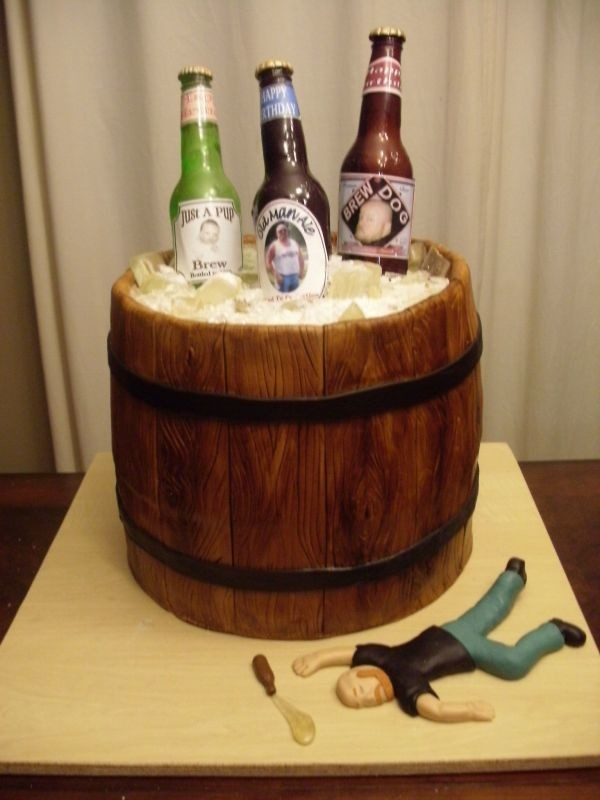 пиво в виде торта фото недостатки