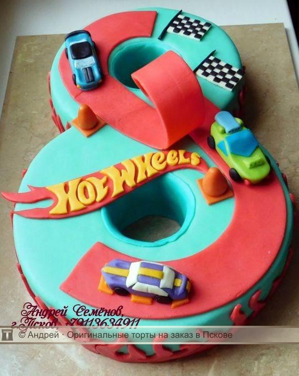 торт для мальчика 8 лет фото