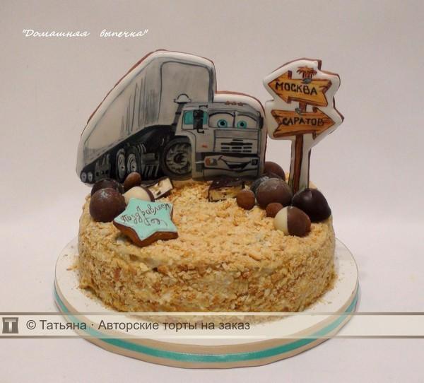 цвета фото торта для мужчины дальнобойщика создание