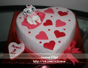 чеширский кот фото торт