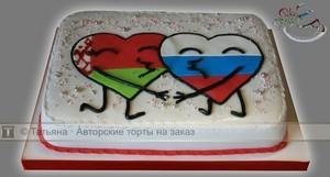 Торт размазанный по лицу фото 1