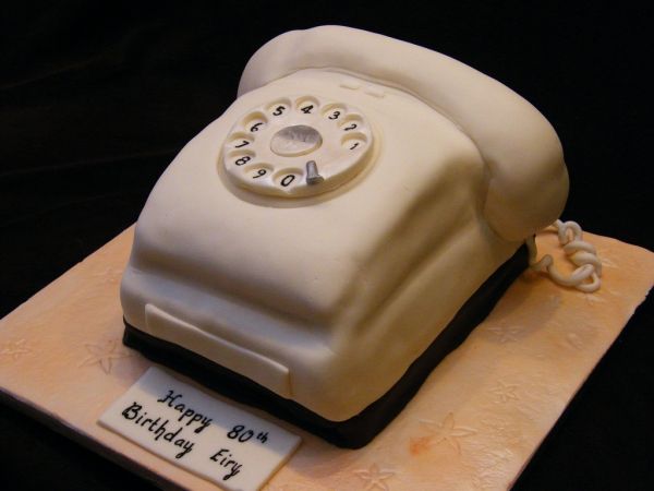 Мастер класс торт телефон