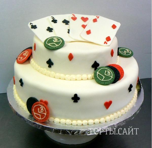 Торт игральная карта фото торта