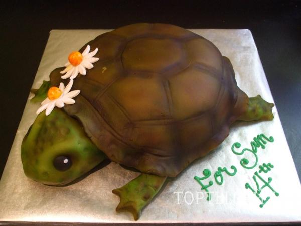Фотографии с рецептами тортов черепаха