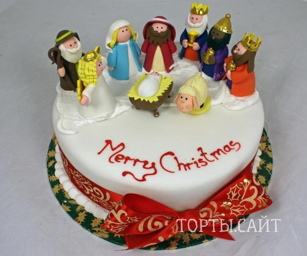 новогодний торт 2011 фото