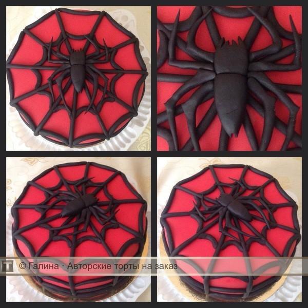 Как сделать паук для торта 451