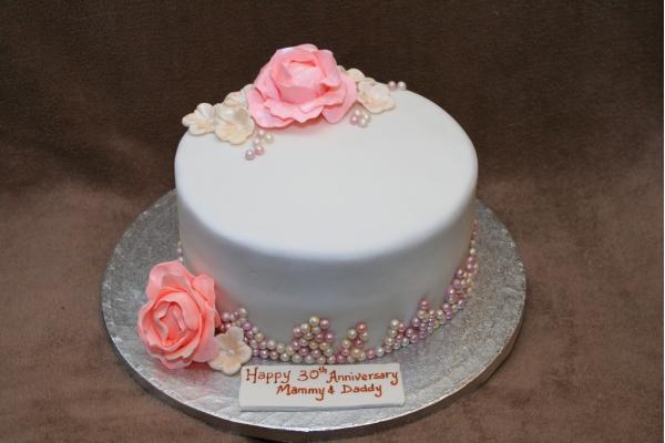 Нежные свадебные торты без мастики