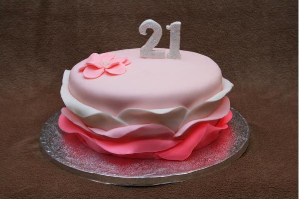 Торты на день рождения 21 год фото