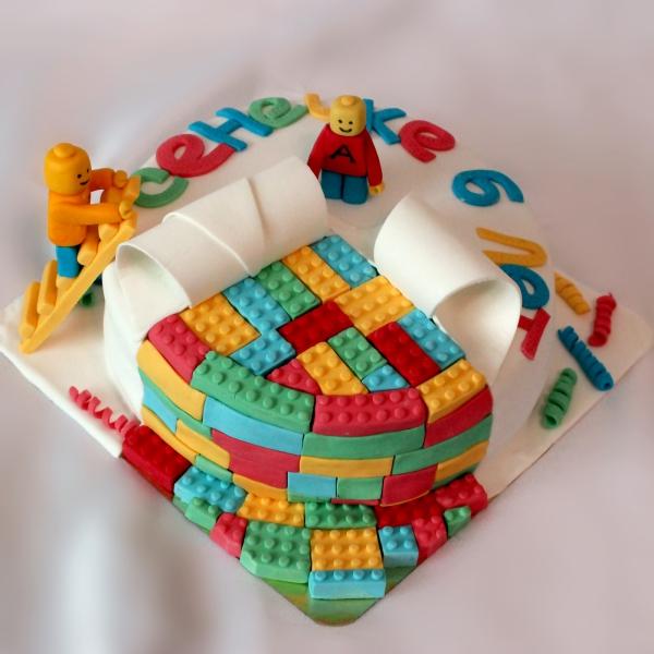 для фото мальчиков торты лего детские